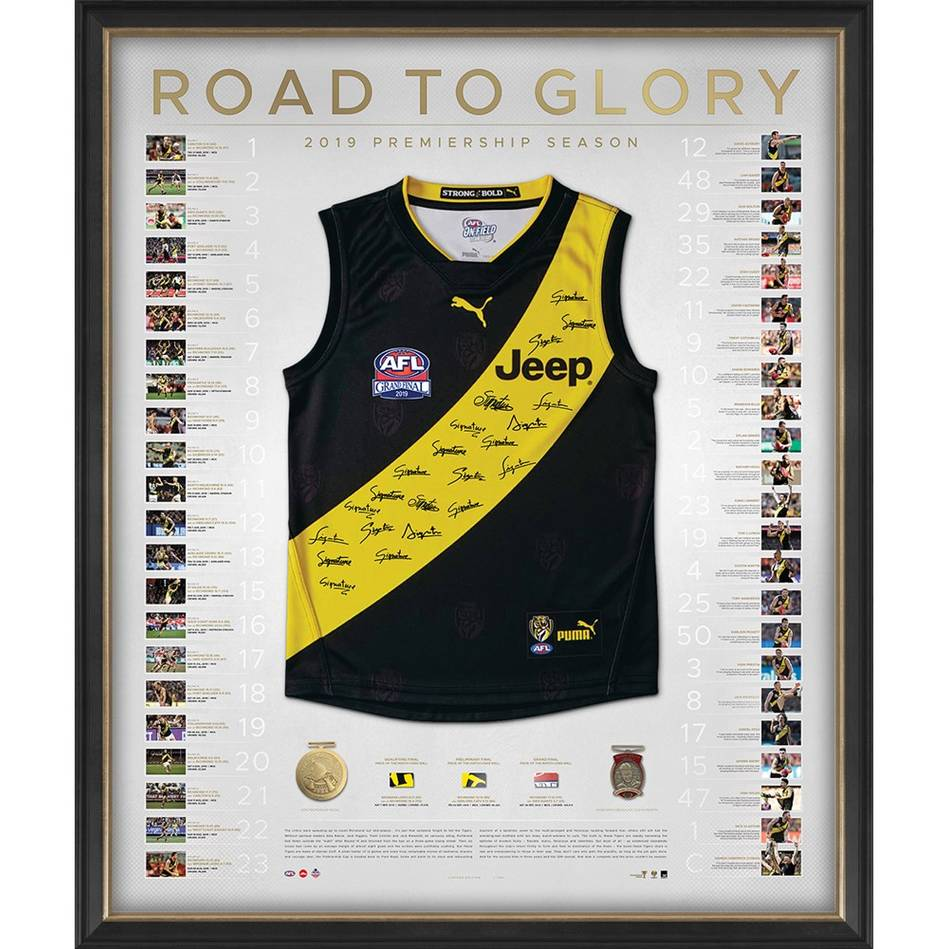 mainRichmond 2019 Premiers Team Signed Guernsey – Deluxe0
