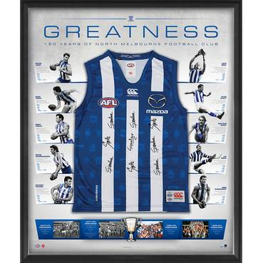 North Melbourne 150 Year Anniversary Signed 'Greatness'