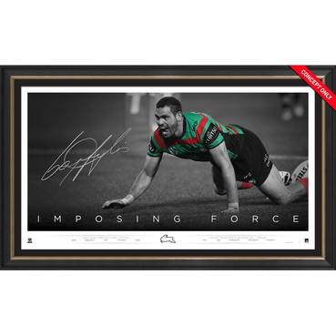 Greg Inglis Signed 'Imposing Force'