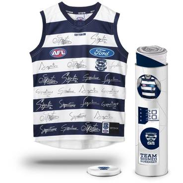 Geelong Cats 2020 Team Signed Guernsey