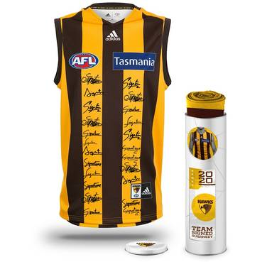 Hawthorn Football Club 2020 Team Signed Guernsey