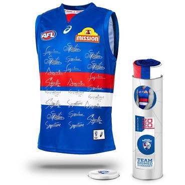 Western Bulldogs 2020 Team Signed Guernsey