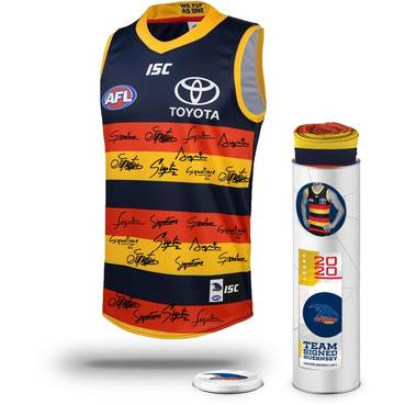 Adelaide Football Club 2020 Team Signed Guernsey