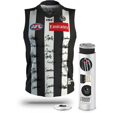 Collingwood Football Club 2020 Team Signed Guernsey