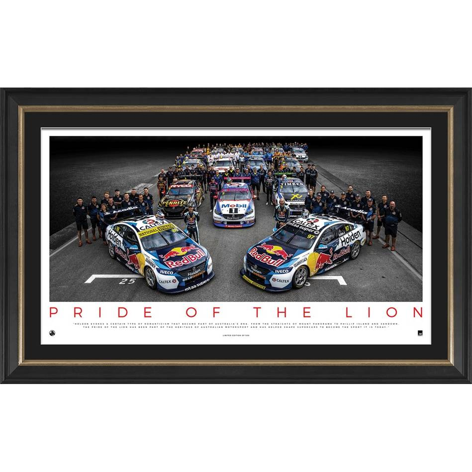 mainHolden 'Pride of the Lion' Framed Print0