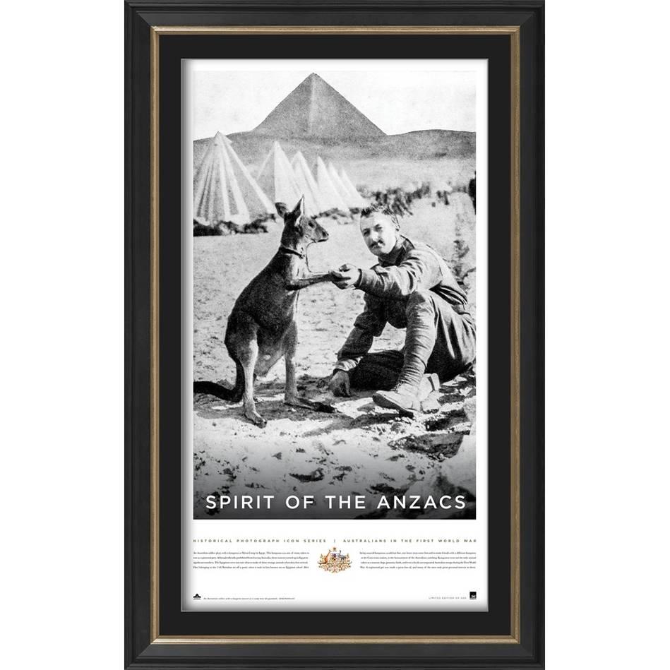 main'Spirit of the ANZACS' Framed Print0