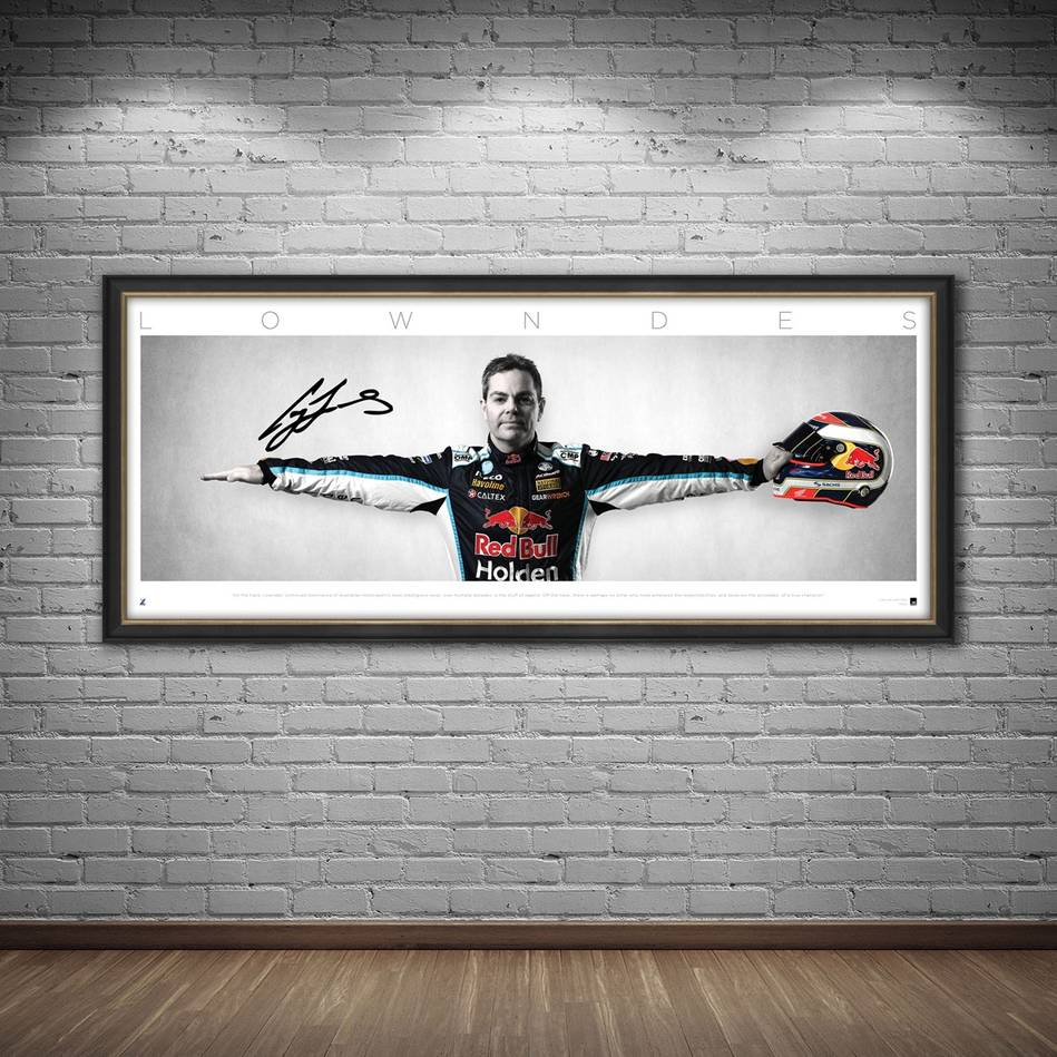 mainCraig Lowndes Signed 'Wings'1