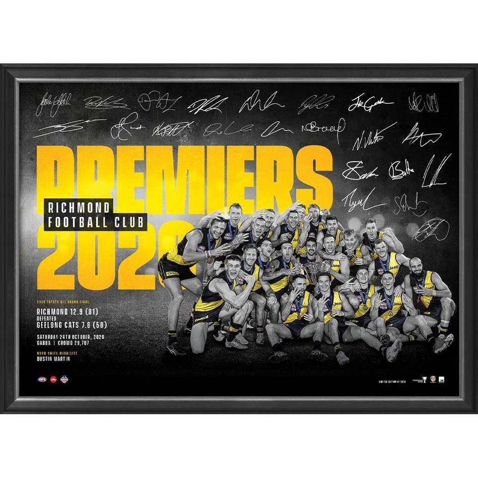 mainRichmond 2020 Premiers Framed Sportsprint0
