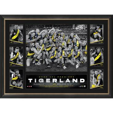Richmond 2020 Premiers Tribute Frame
