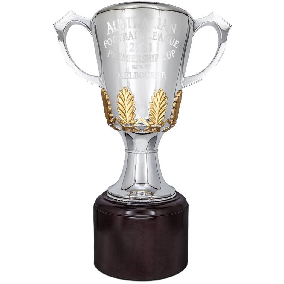 Full Size Melbourne 2021 Premiers Replica Trophy0