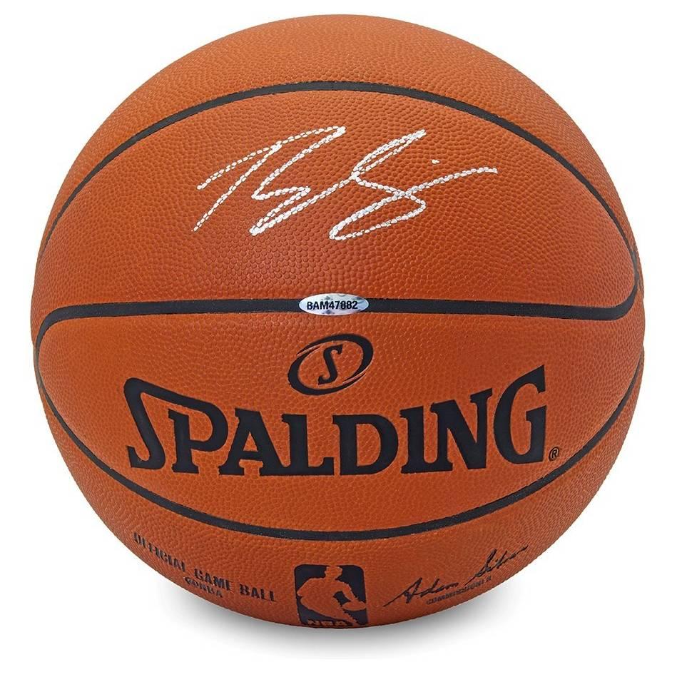 mainBen Simmons Signed Spalding Ball0